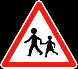 panneau école